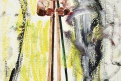 Brez naslova, 2005, olje, papir, 56,5 x 38 cm